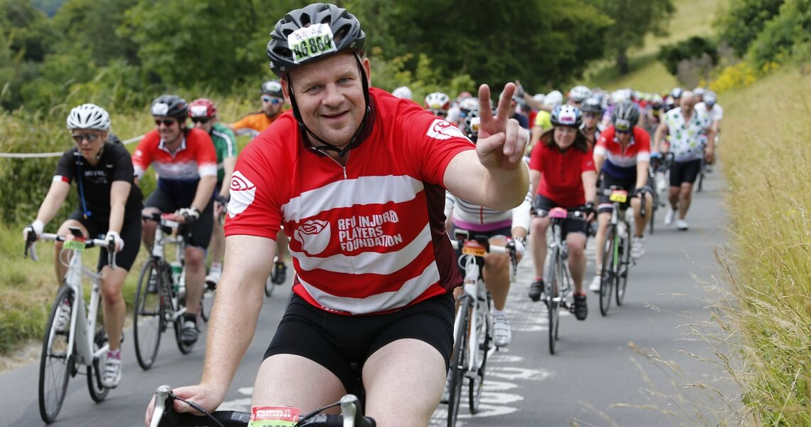 Help injured players by cycling in the Prudential Ride